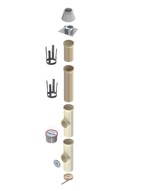 Schnellkalkulation - KeraLine EW Isostatisch für Unterdruck