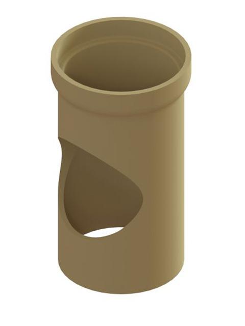 Einzelteile - Rohr mit Rundöffnung 330 mm