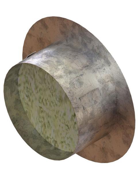 Einzelteile - Mauerkapsel (Blindverschluss)