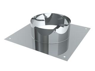 Einzelteile - Schachtabdeckung mit Zentrierfedern