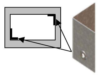 Einzelteile F90 einzügig - Verbinder für Sonderschachtgrößen