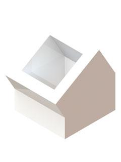 Einzelteile F90 einzügig - Schachtumlenkungswinkel 30°