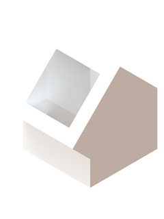 Einzelteile F90 einzügig - Schachtumlenkungswinkel 45°