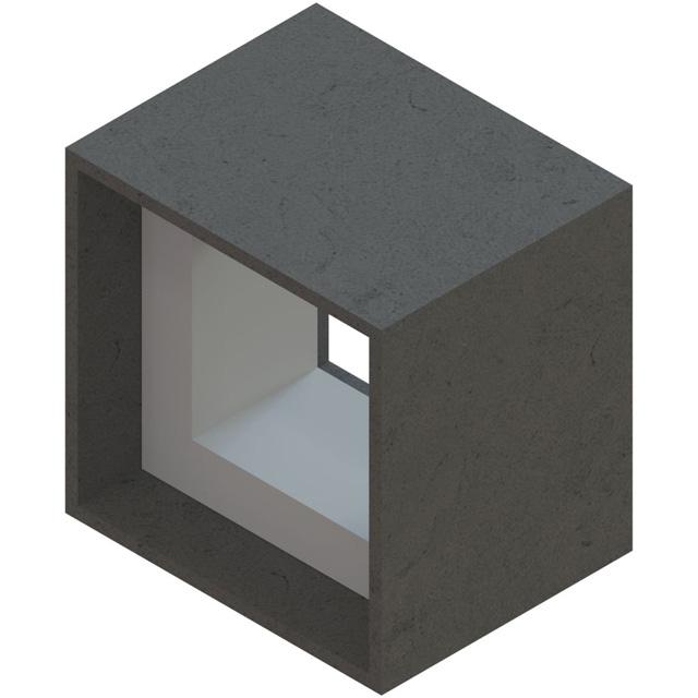 Einzelteile F90 einzügig - Horizontalschachtverbinder