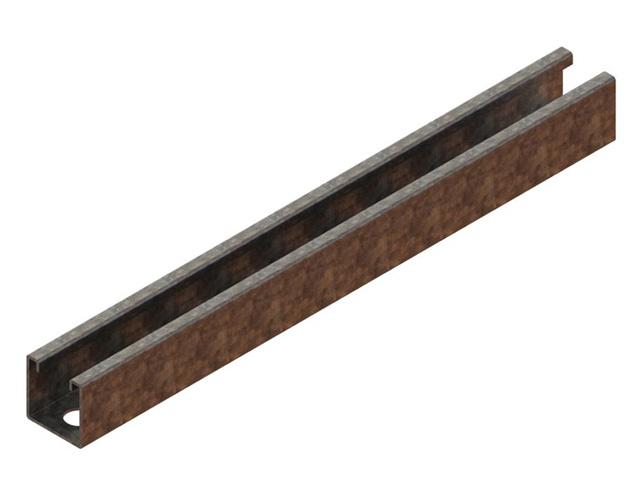 Einzelteile F90 einzügig - Abhängeschiene für individuelle Zusammensetzung