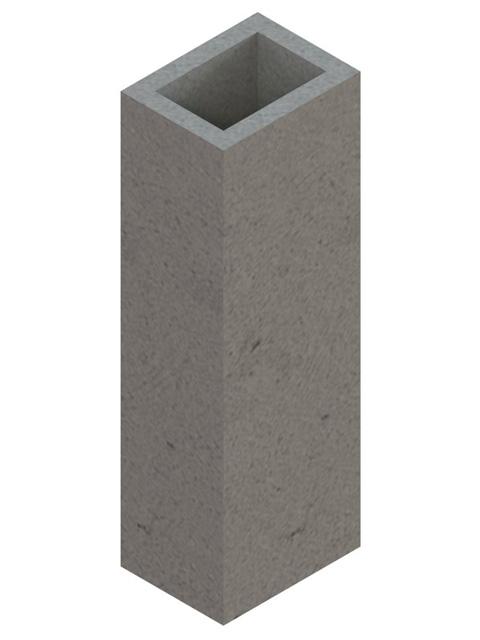 Einzelteile F30 - Schachtelement einzügig 600 mm
