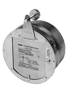 Zugbegrenzer & Zug-Ex Klappen - Zugbegrenzer Typ Z Standard (Motorantrieb nicht nachrüstbar)