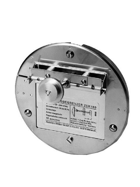 Zugbegrenzer & Zug-Ex Klappen - Zugbegrenzer Typ ZUK mit Explosionsklappe (Motorantrieb nachrüstbar)