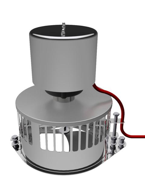 Anheizhilfen / Rauchsauger - AirSpeedy Anheizhilfe für Öfen bis 8kW bis max. 250° C
