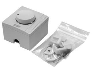 Anheizhilfen / Rauchsauger - Drehzahlregler für Rauchsauger Injekt und Diajekt für Aufputzmontage