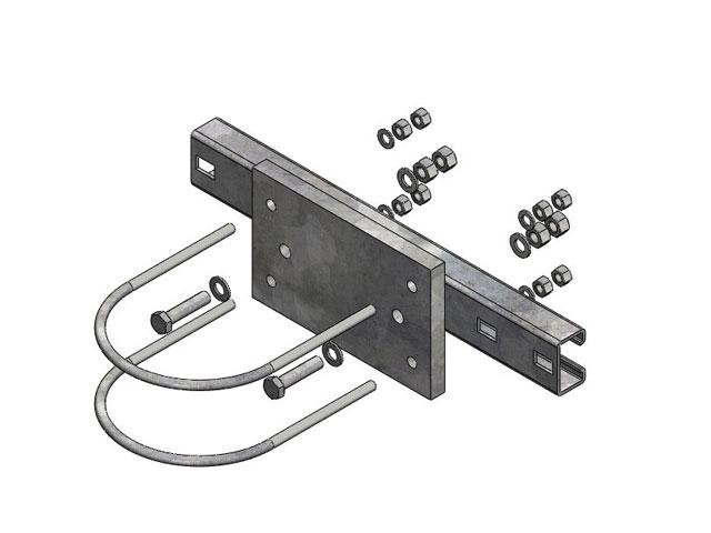 FixLine Tragmastpakete Für die Montage von doppelwandigen Kaminsystemen - Zubehörteile