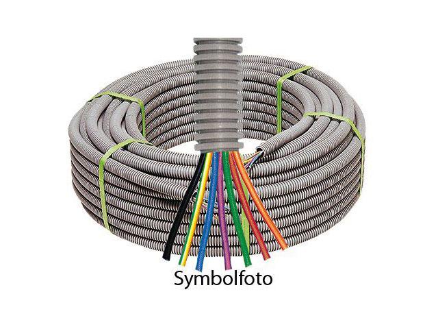 Vorverdrahtetes flexibles Elektroinstallationsrohr
