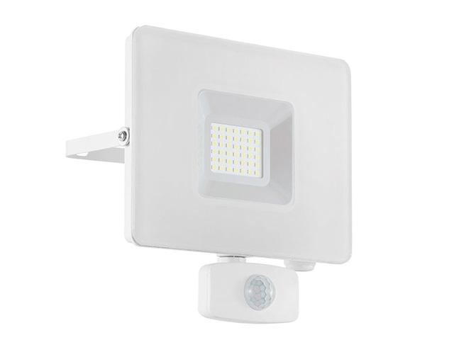 LED-Flutlichtstrahler weiß mit Sensor