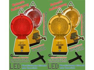 LED Warnblinklampen mit Dämmerungsschalter - blinkend/Dauerlicht