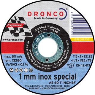 Artikelbild Trennscheibe INOX AS60T INOX
