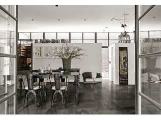 Serie Flagstone black/white