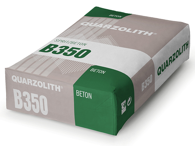 Spritzbeton B350