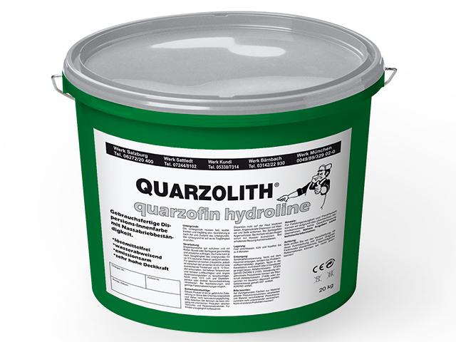 quarzolith quarzofin hydroline dispersionsfarbe. Black Bedroom Furniture Sets. Home Design Ideas