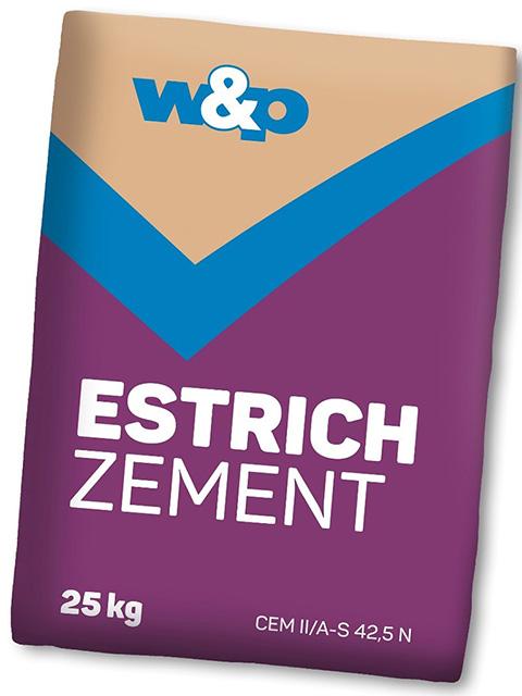 Estrich Zement