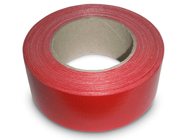 steinoflex® Gewebeklebeband rot
