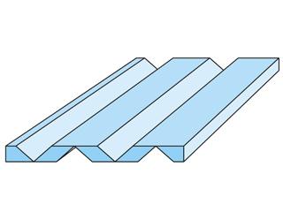 2+2 V-Fräsung 90° unverleimt