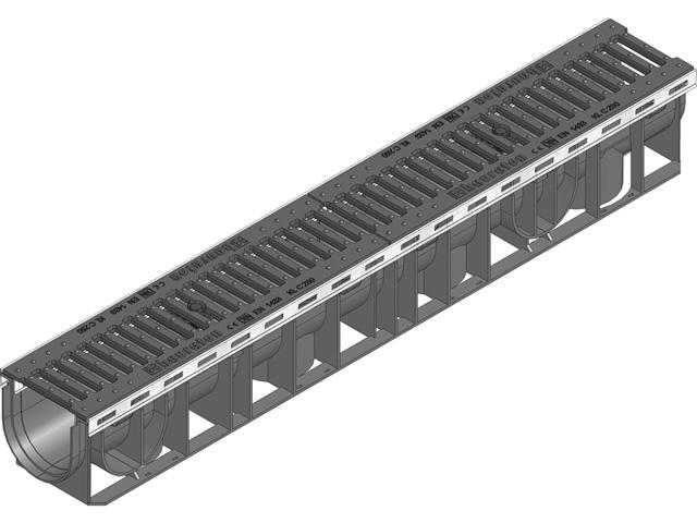 RECYFIX® PLUS 100, Kombiartikel, Klasse C 250, mit Gussrost