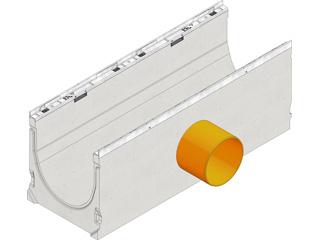 FASERFIX® KS 200, Werkseitiges Einsetzen von KG-Stutzen