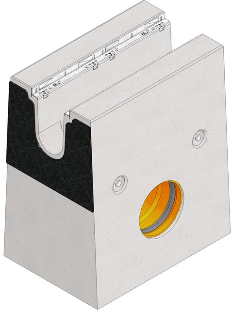 FASERFIX®BIG BL 200, Einlaufkasten
