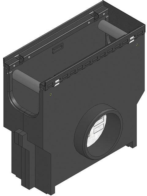 RECYFIX®PRO 150, Einlaufkasten