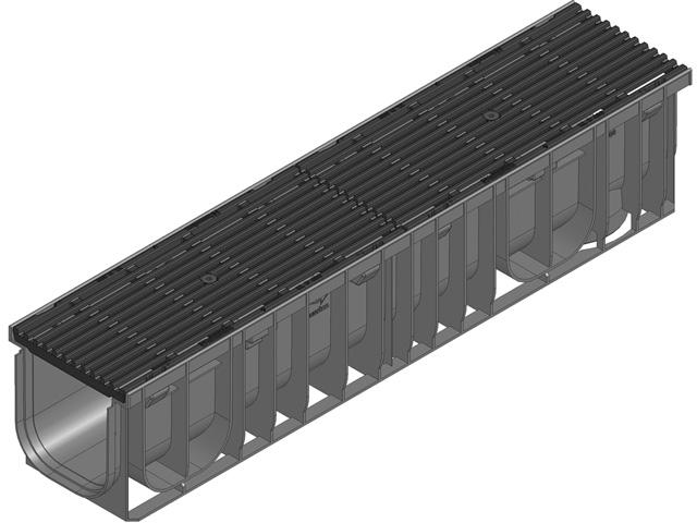 RECYFIX®PRO 150, Klasse C 250, Guss-Längsstabrost