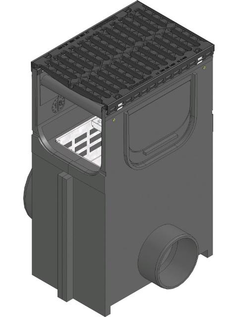 RECYFIX®NC 300, Einlaufkasten
