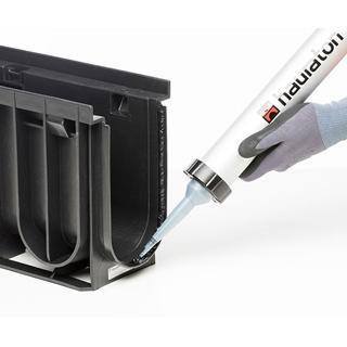 Universal-Dicht-/Klebstoff  Siga-Meltell® 320 black