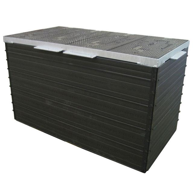 Produktbild Rombox mit Abdeckung Kl. B