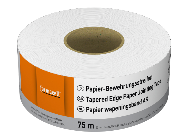 Papier-Bewehrungsstreifen