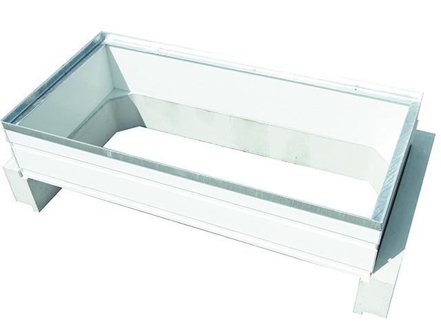 PVC-Aufsatz MEAFLEX, Höhe +30 cm