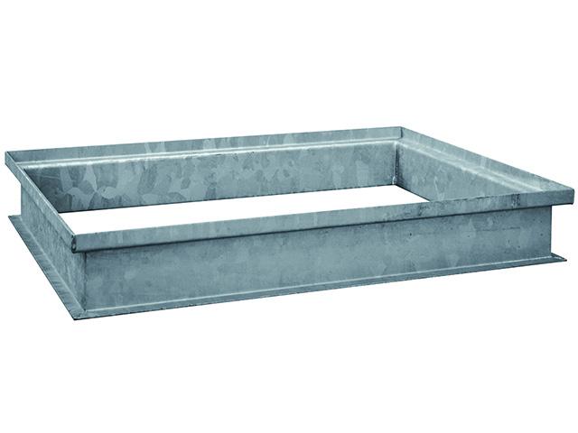 Stahlaufsatz MEAVECTOR, Höhe +5 cm