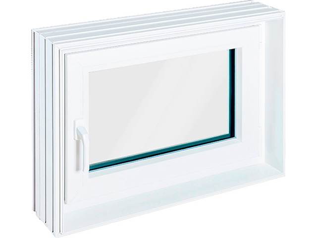 Zargenfenster AQUA, Din L