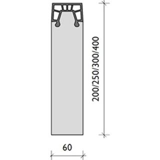 Produktbild BG Softrandstein 1000/60/250