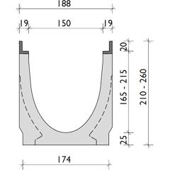 004        BG-FILCOTEN pro mit Zarge, Nennweite 150