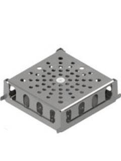 Produktbild Kreuzungs-Eckelement, 150/150/50 mm, H = 50 mm, SW 17 mm
