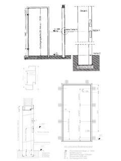 Türzarge detail  Saint-Gobain Rigips Standard-Türzargen - Schuberth - Baustoffkataloge
