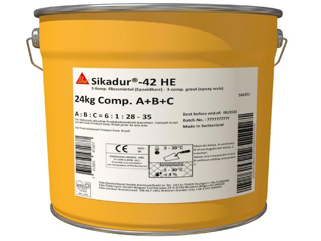 Produktbild Sikadur®-42 HE (A+B+C)