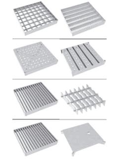 Roste für Schlitzrinne 20 - Rahmenaußenmaß 200 x 200