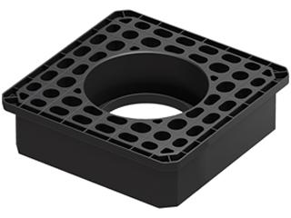 Adapter für Schachtaufbau SD