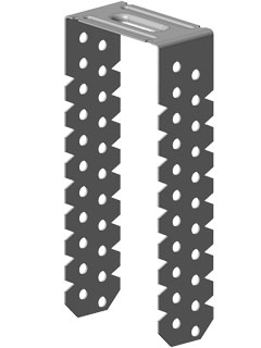 Direktabhänger 125mm, gebogen