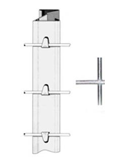 Produktbild Z - Profil Forstsäule