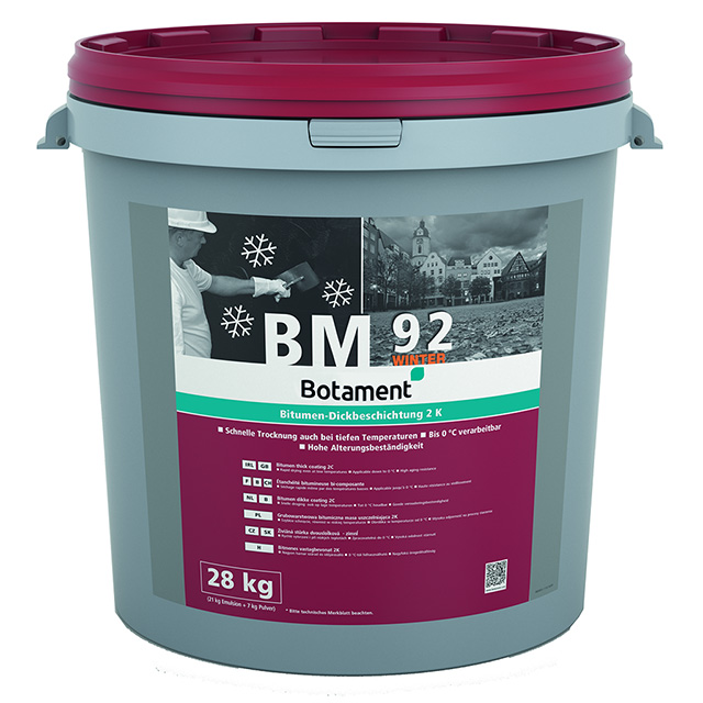 Produktbild BOTAMENT BM 92 Winter.  28 kg