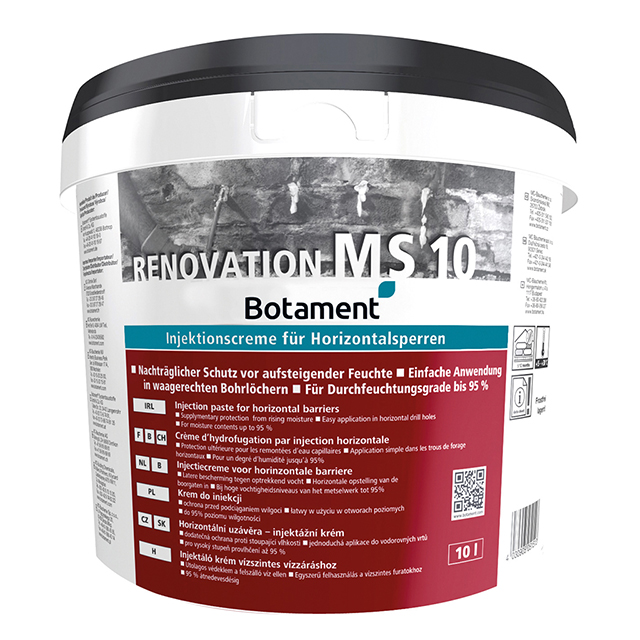 Produktbild BOTAMENT® Renovation MS 10