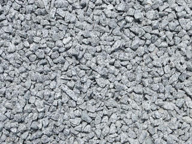 Granitsplitt, Salz & Pfeffer