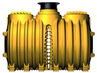 Kleinkläranlage INNO-CLEAN Einbehälteranlage